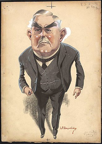 George Fuller (Australian politician) - Caricature of Fuller (published 1925)