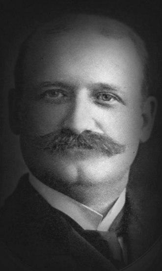 George Keister - George Keister portrait