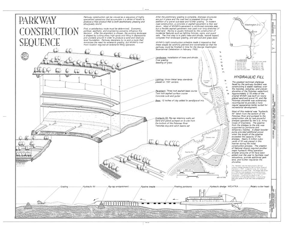 File:George Washington Memorial Parkway, Along Potomac River