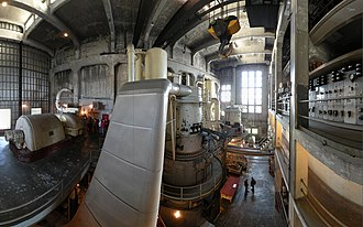 Georgetown Steam Plant - Inside the plant. (2008)