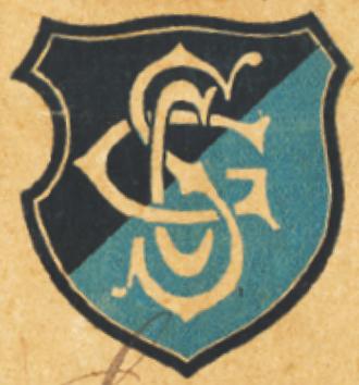 Esporte Clube Pinheiros - Logo of SC Germânia ca. 1909.