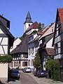 Gernsbach - Amtsstr.mit Blick a. Kath. Kirche von Der Bruzzla.JPG