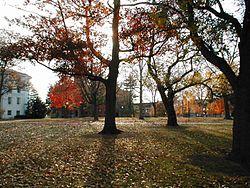 Gettysburg College campus 4 November 2001
