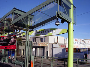 Gilman/Paul station - Gilman/Paul Station on Opening Day.