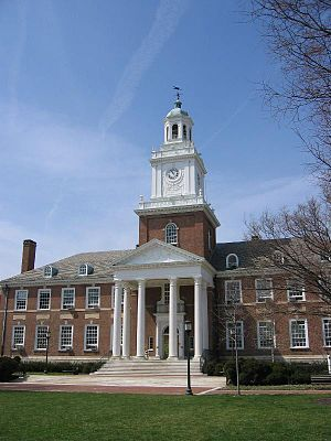 Homewood Campus of Johns Hopkins University - Gilman Hall