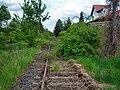 Gimbsheim- alter Bahnhof- Richtung Eich 1.5.2008.jpg