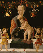 Giorgio di Tomaso Schiavone - Madonna and Child with Angels - Walters 371026.jpg