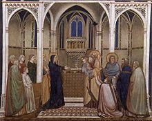 Giotto e bottega, Presentazione di Gesù al Tempio