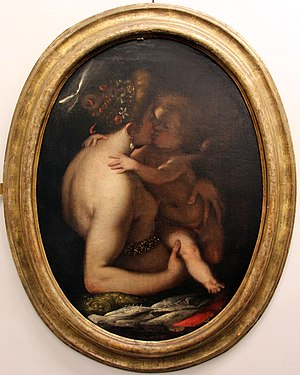 Giovanni Battista Paggi - Venus and Cupid - Genoa