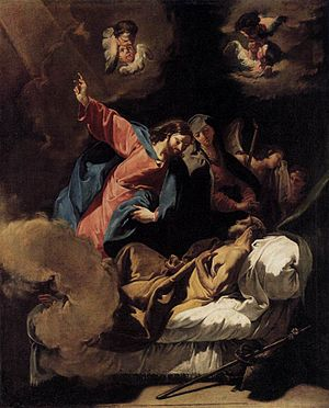 Berggruen Museum - Death of Joseph by Giambattista Pittoni, Oil on canvas, 97 x 79 cm