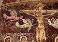 Giovanni cristiani e bottega, natività, crocifissione con santi e compianto, 1390 ca. 08 angeli.jpg