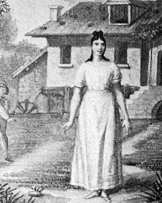 Giuditta Pasta - Giuditta Pasta as Amina, May 1831 premiere