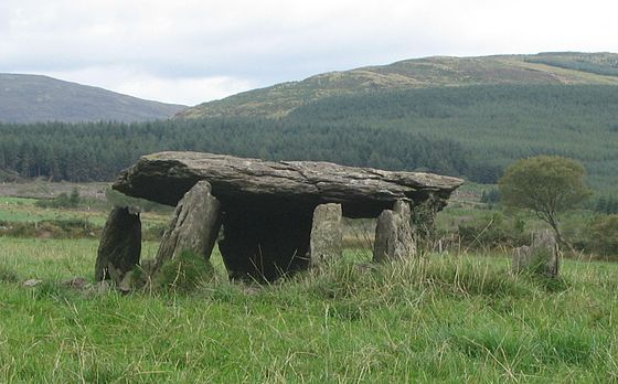 Wedge tomb, Glantane East Glantane East Wedge Tomb.jpg
