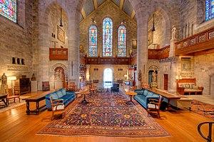 Glencairn Museum - Great Hall.