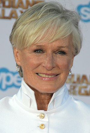 Glenn Close won once from three nominations for her performance in The Wife (2017). Glenn Close - Guardians of the Galaxy premiere - July 2014 (cropped).jpg