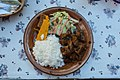 Goat stew at Rose Inn restaurant Rincon (Bonaire 2014) (15668734266).jpg