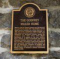 Godfrey Miller Home plaque.jpg