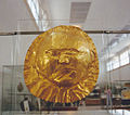 Golden mask of a Mycenaean King Greece.jpg