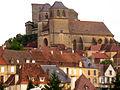 Gourdon +chateau médiéval basé sur maquette.jpg