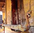 Gouttière rituelle en forme de Naga (Vat Sisaket, Vientiane) (4341374513).jpg
