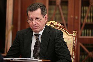 Alexander Zhilkin Governor of Astrakhan