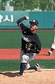 Goyang Wonders Pitcher Ryokan Kobayashi 2013.JPG