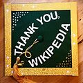 Graduation cap thanking Wikipedia.jpg