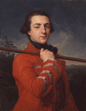Augustus FitzRoy, 3rd Duke of Grafton - Portrait by Pompeo Batoni, 1762.