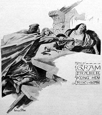 Gram of Denmark - Image: Gram dræber Kong Henrik