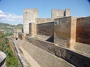 Horace François Bastien Sébastiani de La Porta - The Alhambra citadel, Granada