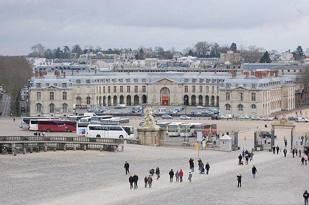 Monument historique à Versailles
