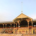 Grandstand of the former Victoria Park Racecourse, Adelaide -- centre pavilion.jpg