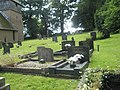 Graves in the churchyard at St James, Shipton - geograph.org.uk - 1446563.jpg
