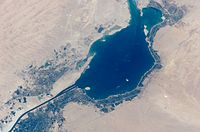 Great Bitter Lake from space (hires).JPG