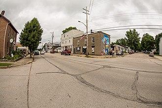 Greens Fork, Indiana - Image: Greensfork, Indiana