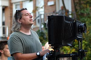 Gregory Crewdson - Crewdson on location in Pittsfield, MA July 25, 2007