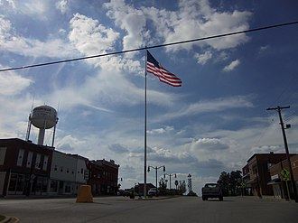 Griggsville, Illinois - Downtown Griggsville