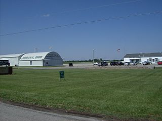 Grimes Field airport in Ohio, United States of America