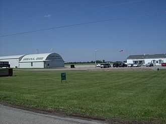 Urbana, Ohio - Grimes Field, the Urbana airport