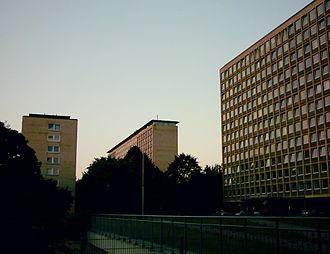 Harvestehude - Grindel Highrises, first high rises in Hamburg in Harvestehude