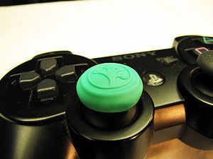 Grip-It placed on the PS3 Controller