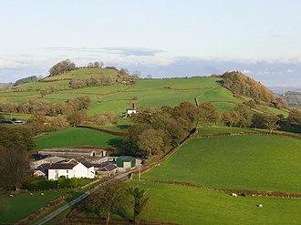 Grongar Hill - The hill as seen from nearby Dryslwyn Castle