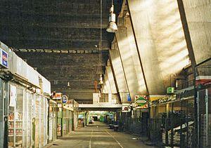 Großmarkthalle - Inside, 2002