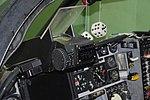 Grumman A-6A Simulator, Pilots Heads-Up Dispay (HUD), Oakland Aviation Museum (6091773000).jpg