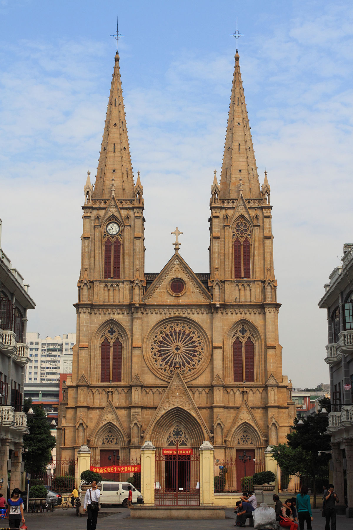 The Sacred Circle Of Water: Sacred Heart Cathedral (Guangzhou)