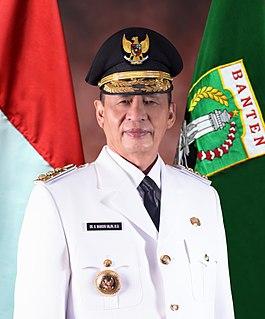 Wahidin Halim Indonesian politician