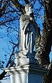 GuentherZ 2010-11-06 0063 Moosbrunn Friedhof Heiligenfigur Detail.jpg
