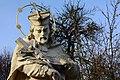 GuentherZ 2013-11-01 0127 Maissau Johannes-Nepomuk-Statue2 Quittengang.JPG