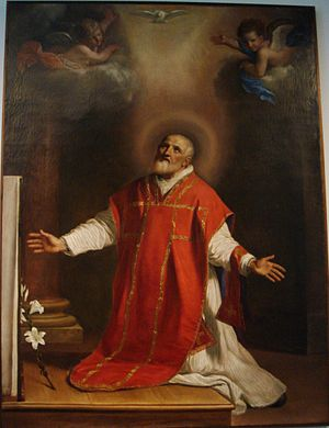 Philip Neri - Philip Neri, as painted by Guercino in 1656
