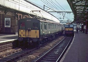 Guide Bridge railway station - Guide Bridge station in 1967